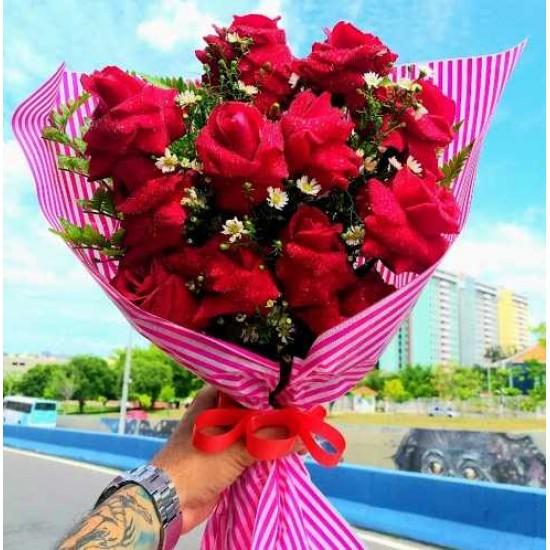 Buque 12 Rosas  Paixão