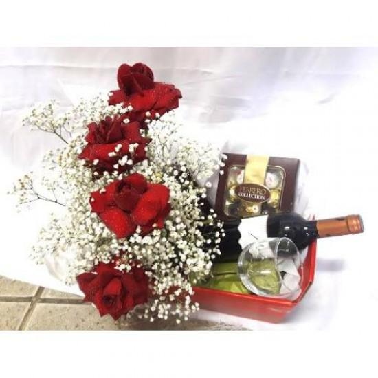 Rosas Chocolate e Vinho