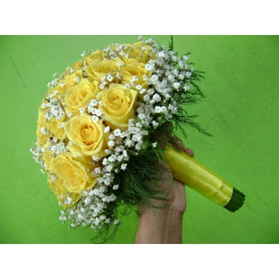 Buque Noiva Rosa Amarela